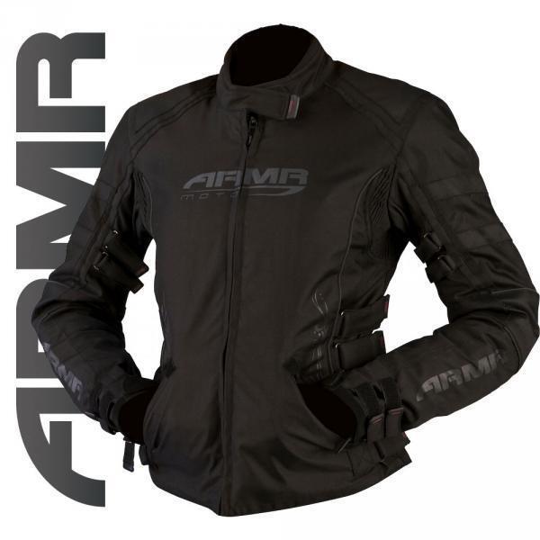 ARMR MOTO women Kami black IMpermeable Térmico Chaqueta moto motocicleta