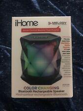 iHome iBT68 Wireless Portable Speaker System Black//Blue
