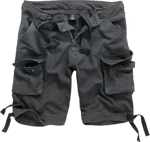 Brandit Urban Legend Shorts Bermuda Cargo Pant uomo nero s-7xl FASHION outdo