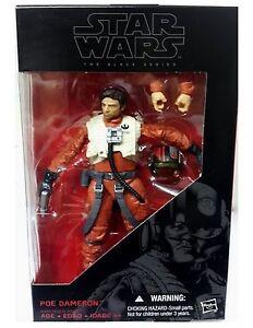 STAR-WARS-EPISODE-VII-Figurine-POE-DAMERON-X-WING-PILOT-BLACK-SERIES-15-cm