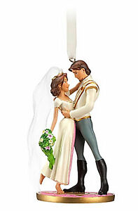 Disney-Store-Tangled-Ever-After-Rapunzel-Flynn-Wedding-Christmas-Ornament