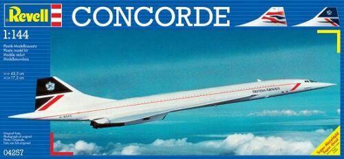 Revell 04257-1//144 Concorde Passagierflugzeug Neu