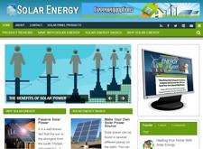 Solar Energy Niche Blog Website Affiliate Income Free Hosting Setup