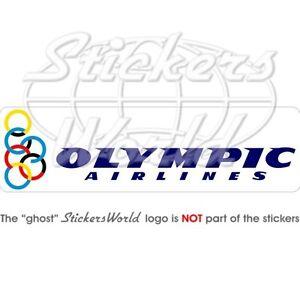 OLYMPIC-AIRLINES-Fluggesellschaft-Griechenland-200mm-Aufkleber-Vinyl-Sticker