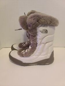 The-North-Face-Nuptse-Women-s-Faux-Fur-IV-Winter-Waterproof-Boots-Size-10-5