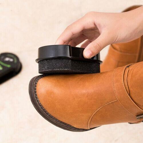 New Quick Shine Shoes Shine Sponge Brush Polish Dust Cleaner Cleaning Tool BTOCA