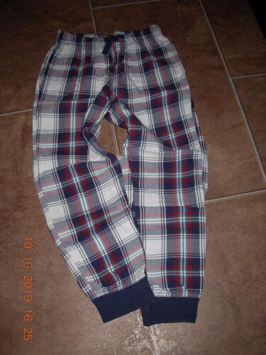 146-152 kariert TOP! /> H/&M />  Winter Schlafhose Pyjama Flanell Hose Gr