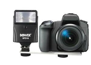 Bower Compact Lightweight Digital Slave Flash with Bracket (works w/ any brand)