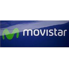 4x Aufkleber Sticker Movistar #0532