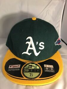 best website 1f07a d6fca Image is loading Vintage-Oakland-A-039-s-Athletics-New-Era-