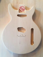 Les Paul Jr./ DOUBLE CUT TELECASTER PICKUP BODY  EUROPEAN LINDIN WOOD