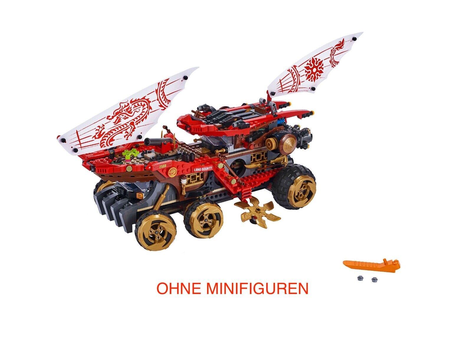 LEGO® Ninjago – 70677  Wüstensegler Le Bounty Nur Only NEU OHNE MINIFIG scatola  la migliore offerta del negozio online