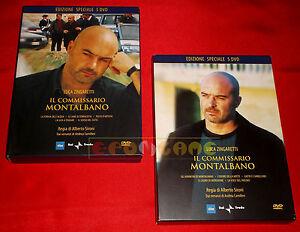 Luga Zingaretti IL COMMISSARIO MONTALBANO Stagioni 1 2 3 4 - 10 DVD - USATI - ET