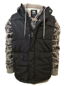 Ecko-Unltd-Men-039-s-2PC-Set-All-City-Printed-Vest-and-Full-Zip-Hoodie-Retail-88