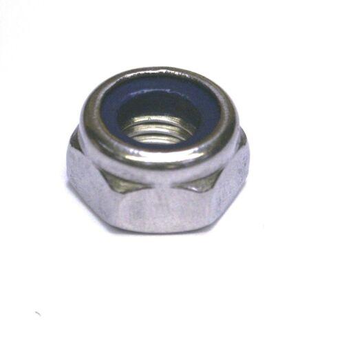 M18 Nyloc A2 inox DIN 985-6PK 18 mm IN NYLON INSERTO dadi di bloccaggio