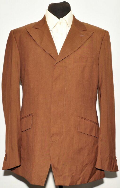 Gelernt Bespoke D.a. Lilliard Chocolate Brown Ultra Lightweight Summer Suit 42 L 34 W Geeignet FüR MäNner Und Frauen Aller Altersgruppen In Allen Jahreszeiten