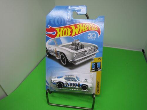 KING KUDA #362✰white//blue;King♛CHECKMATE♛2018  Hot Wheels WW case Q