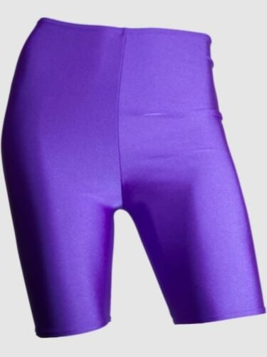 Ladies Womens Girls Kids Stretch Cycling Shorts Legging Dancing Gym Bike