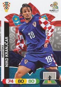 puramente Declaración Alergia  NIKO KRANJCAR # HRVATSKA CROATIA CARD PANINI ADRENALYN EURO 2012   eBay