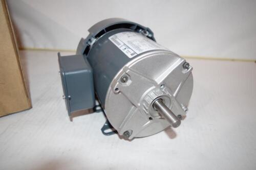 48   1 PHASE  NEW! MARATHON 0.25 HP  AC MOTOR 1725 RPM TEFC 230VAC  FR