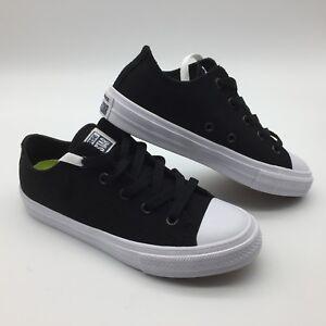 We'll Ox Infantil Converse Zapatos Ctas Negro blanco wFc8wBqSX
