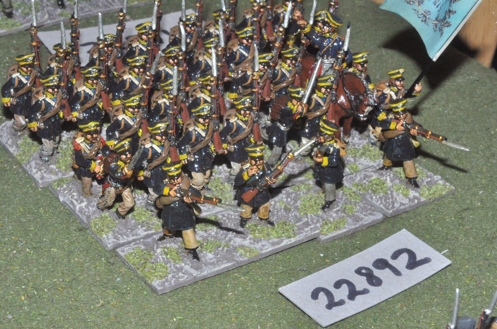 25mm napoleonic   prussian - line 35 figures - inf (22892)