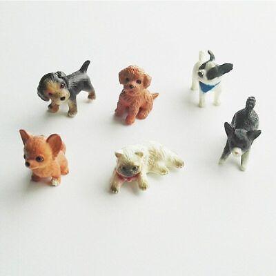 Doll House Pet Cat Dog Animal Miniature Retro New Play Home Decoration Vintage