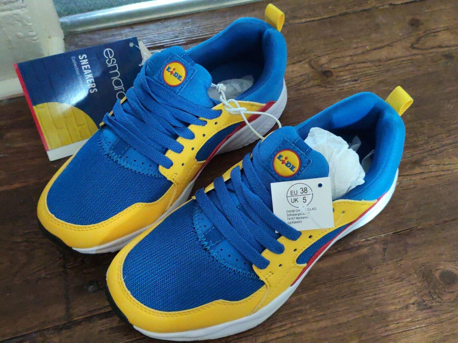 chaussures lidl collector, édition limitée, sneaker, 38 EU, UK 5