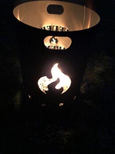 Feuersäule Feuertonne Feuerstelle Feuerkorb