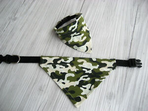 Hundetuch Hundehalstuch Halsband Halstuch Dreieckstuch Handarbeit Hundekleidung