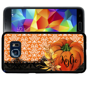 Personalized-Case-Fits-Samsung-Galaxy-S10-S9-S8-S7-Plus-Pumpkin-Fall-Lace