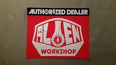 "New Alien Workshop ""Authorized Dealer"" Sticker"