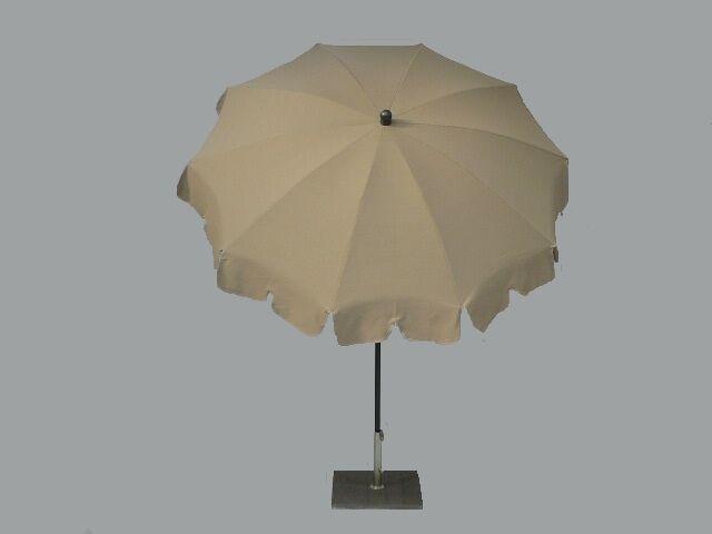Maffei Sonnenschirm Pol zentral Allegro Art.84 taupe dralon d.200 d.200 d.200 cm 1bfb36