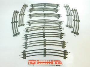BR506-2-12x-Maerklin-Spur-0-Gleis-12er-Kreis-gebogen-fuer-elektrischen-Betrieb