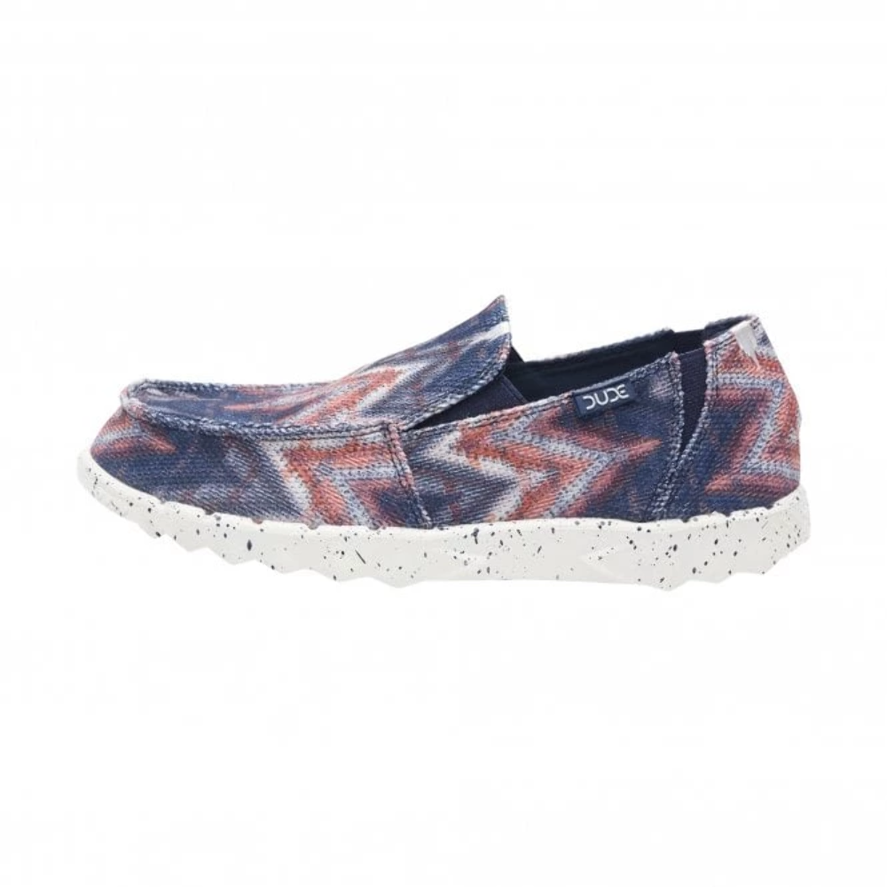 Dude Farty Ltd Edition Prints Navy Teepee Printed Sox Slip On schuhe