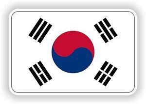 SUD-COREA-bandiera-adesivo-2-8x4-034-PARAURTI-AUTO-FRIGO-TABLET-PORTA-MANUALE