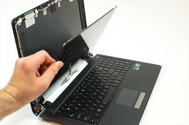 We have enough stock of laptops screen price start R550