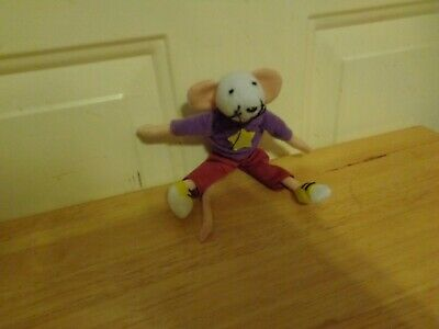 Trevor Romain Foundation Coco The Mouse Purple Sweater Star Plush