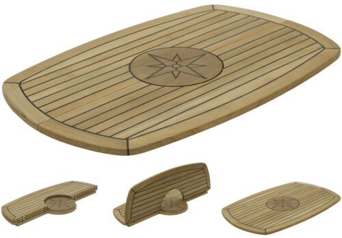 "k Table Nautic Star ""Circle"" Five Sizes Available Marine Boat Folding"