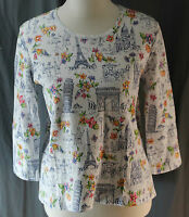 Jenny Buchanan, Small, Multi-print Top, With Tags
