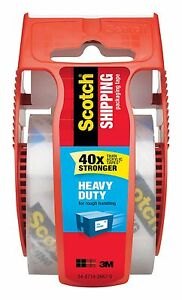 Scotch Heavy Duty Shipping Packaging Tape 1.88 x 800 Inches (142)