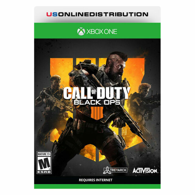Call Of Duty Black Ops 4 Microsoft Xbox One 2018 For Sale Online Ebay