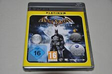 PLAYSTATION 3 gioco-Batman Arkham Asylum-Action-TEDESCO COMPLETO ps3