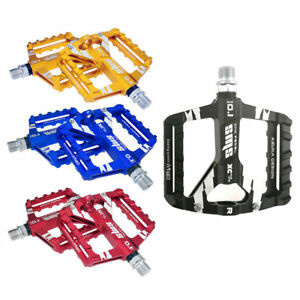 2Pcs-Mountain-Road-Bike-Aluminum-Alloy-MTB-Pedals-Flat-Platform-Bicycle-Pedal