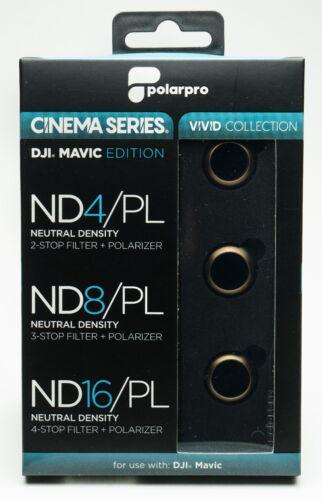 Platinum Polarpro DJI Mavic pro nd filtro set cinema series Vivid Collection