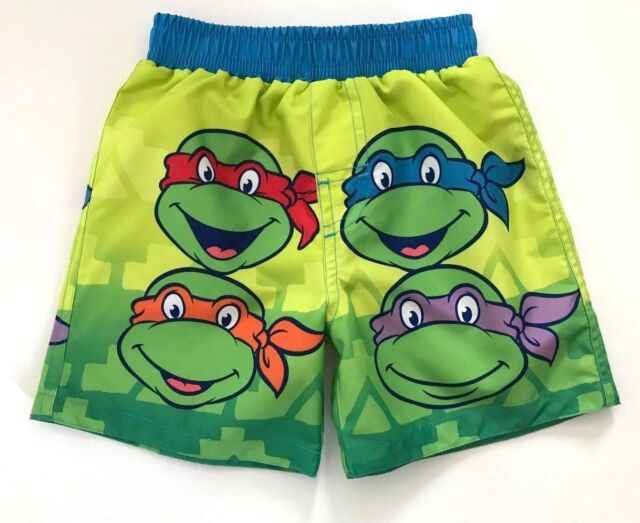 c3a46d52b54fa Teenage Mutant Ninja Turtles Nickelodeon Infant Boy Swim Trunks 0/3M or 24M  NWT