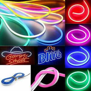 3M-Neon-Flex-LED-Strip-Rope-Light-Waterproof-DC-12V-Outdoor-Garden-Tree-Lighting
