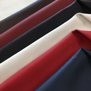 Bright Red Lamb Leather Nappa Skins Hides Fashion Craft Trimming 9 sqft