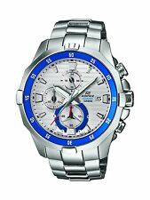 Casio Men's Edifice EFM502D-7A Marine Quartz Chronograph Rotating Bezel Watch