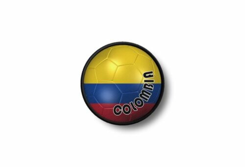 Patch badge ecusson brode imprime thermocollant drapeau ballon foot colombie